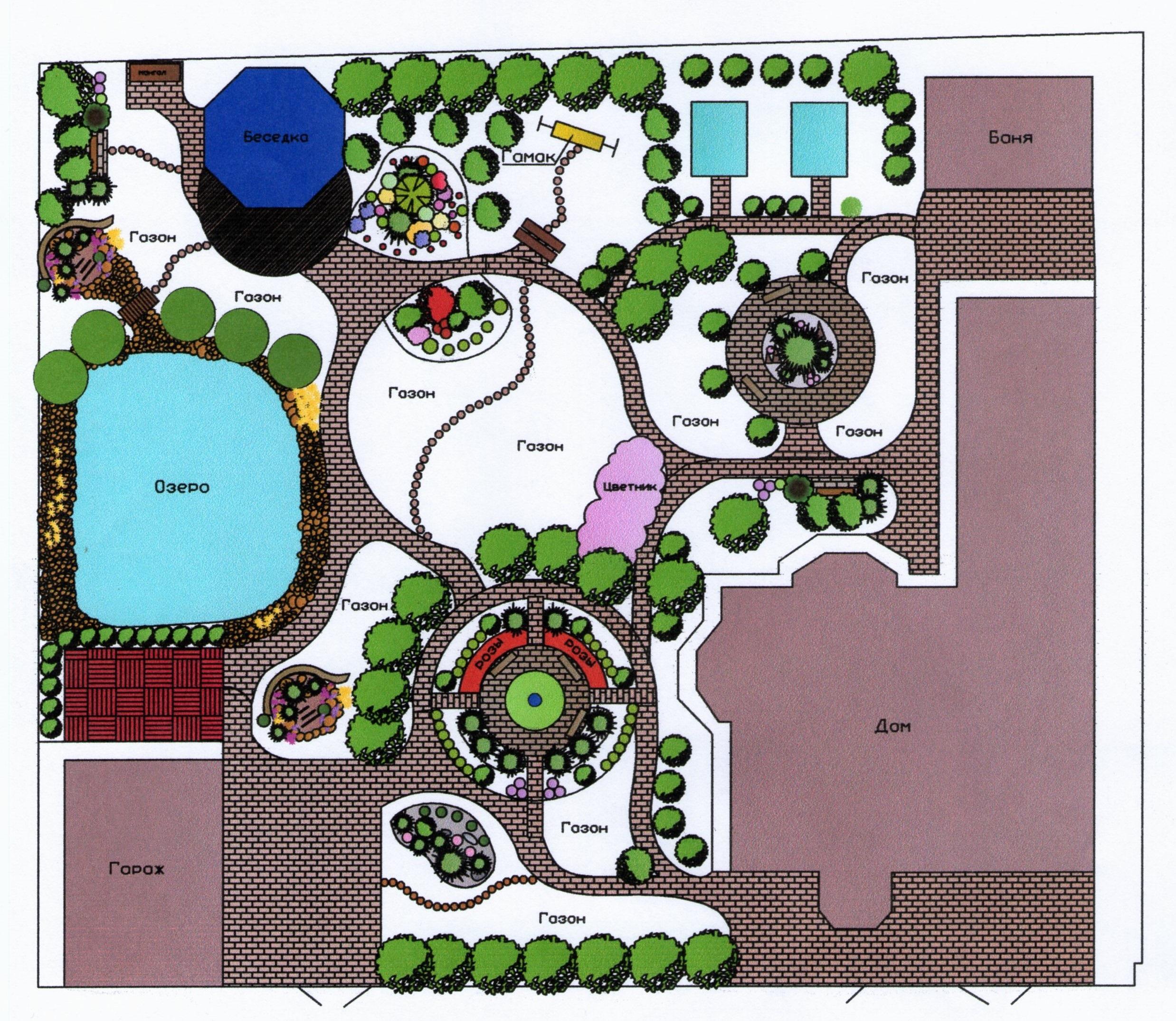 Проект сад